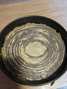 Mákos túrótorta, elképesztően finom lett, ez a recept minden háziasszonynak jól jön! - Egyszerű Gyors Receptek Iron Pan, Minden, Muffin, Plates, Cookies, Tableware, Cake, Licence Plates, Crack Crackers