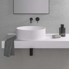 Nuvo Stone Round Counter Top Basin 450mm - Worldwide shipping available on your order