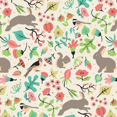 Understory in Ecru, Medium Hedgerow Collection by Tracy Miller