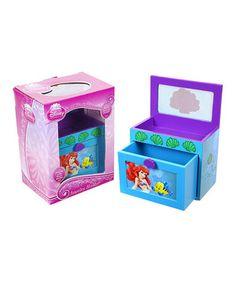 Love this Little Mermaid Ariel Jewelery Box by Disney on #zulily! #zulilyfinds
