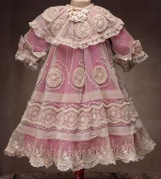 """doll clothes french ANTIQUE 