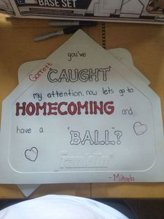 Way to ask a baseball player to homecoming if he goes to another school. Way to ask a baseball player to homecoming if he goes to another school. Asking To Homecoming, Cute Homecoming Proposals, Formal Proposals, Hoco Proposals, Wedding Proposals, High School Dance, School Dances, Sour Patch Kids, Dance Proposal