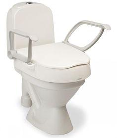 Elevador de inodoro wc con tapa en 5 10 y 15 cm de altura for Elevador taza wc