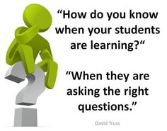 How do you know when students are learning?