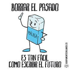 Borrar el pasado es tan fácil como escribir el futuro