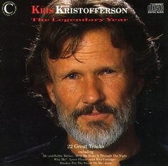 Kris Kristofferson - Legendary Years [New CD] UK - Import Me And Bobby Mcgee, Ranger, Rita Coolidge, Kris Kristofferson, Renaissance Men, Barbra Streisand, Country Music Singers, My Favorite Music, Books