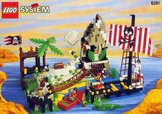 Lego 6281 - Pirates Perilous Pitfall - 1997