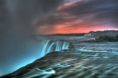 Horse shoe falls at dawn, Niagara by Pratyush Pattanaik, via 500px
