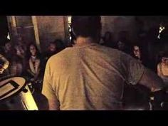 "Bon Iver playing ""Skinny Love"" at a Soirée de poche (""Pocket Party"") in Abbesses, Paris, France =]"