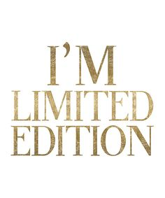 Another great find on #zulily! 'Limited Edition' Print by Oliver Gal #zulilyfinds