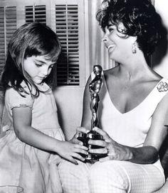 Elizabeth Taylor and daughter, Liza Todd | Tumblr