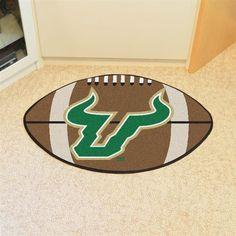 South Florida USF Bulls Football Floor Rug Mat