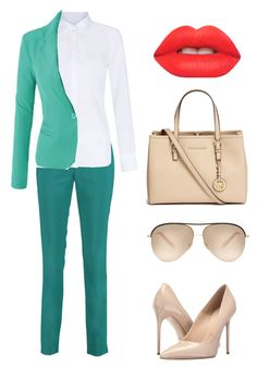 iy by explorer-14660856367 on Polyvore featuring мода, Hobbs, LE3NO, Raoul, Massimo Matteo, Michael Kors, Victoria Beckham and Lime Crime