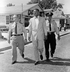 """A Civil Rights Watershed in Biloxi, Mississippi  Frustrated by the segregated shoreline, black residents stormed the beaches and survived brutal attacks on """"Bloody Sunday""""     Read more: http://www.smithsonianmag.com/history/a-civil-rights-watershed-in-biloxi-mississippi-20888869/#mVIzE7uCQ3d5oUwe.99"""