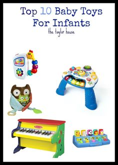 The Top 10 Baby Toys for Infants!  Your baby will love these!