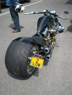 Motorbike numberplate