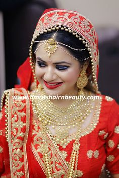 One of the Best Bridal Makeup in Udaipur and try to provide best Bridal Makeover Studio in Udaipur to its Clients. Amrits Hair n Beauty also helps you to look best for your best time. Bridal Chura, Bridal Lehenga, Saree Wedding, Punjabi Wedding, Wedding Suits, Best Bridal Makeup, Bridal Beauty, Udaipur, Bridal Looks