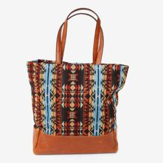 A roomy Southwestern-inspired tote.
