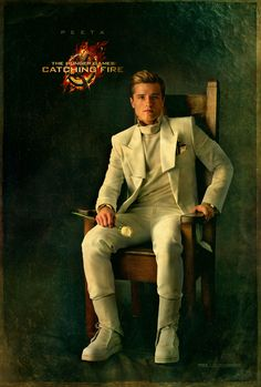 Strong and savvy from District 12… your Victor Peeta Mellark. For the full gallery of #CapitolPortraits, make your way to www.CapitolCouture.pn