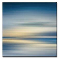 Ready2HangArt Blur Stripes I Wrapped Canvas Wall Art - STRP1-GWC3030