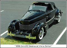 1936 Cord 810 Sedanca de Ville