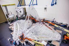 Aerospace : James Webb Space Telescope part. Ph. credit - Northrop Grumman Inc.