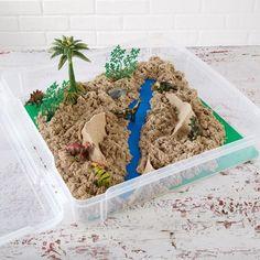 Kinetic Sand™ Dinosaur Sandbox