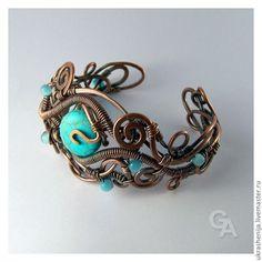 wire wrapping bracelet ideas | bracelet wire wrap | My Jewelry Ideas