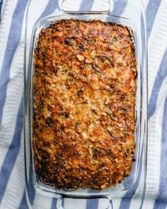 This vegetarian meatloaf is hearty and pleases even the most passionate of meat eaters! It's a family favorite dinner party recipe. dinner party Best Vegetarian Meatloaf – A Couple Cooks Veggie Recipes, Vegetarian Recipes, Cooking Recipes, Healthy Recipes, Vegetarian Bake, Vegetarian Main Dishes, Vegetarian Dinners, Vegetarian Meatloaf, Meatloaf Recipes