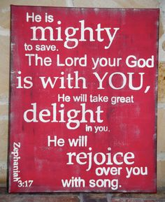 the lord, mighti, wall art, dorm room bible verse, scripture art, god, singing, quotes about finding jesus, scriptur art