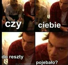 Read from the story Memy o One Direction by DziewczynaHazzy (Pani Ciemności) with 419 reads. One Direction Imagines, One Direction Humor, One Direction Pictures, Polish Memes, Harry Styles Memes, Weekend Humor, 5sos Memes, Memes Funny Faces, 1d And 5sos