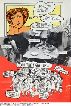 Robyn Slovo/Lesley Ruda: Join the Fight, 1976. Distributed by Spare Rabe Magazine Collective.