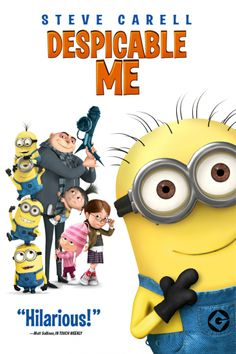 movie poster- Despicable Me | Soundtrack Cover: Various Artists – Despicable Me