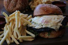 Mushroom Burger @ The Cupping Room, Canberra CBD, ACT #powerofmushrooms