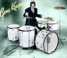 Slingerland Drums...graced with those incredible solos...