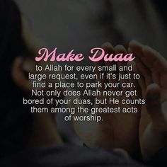 Dua is weapon the believer