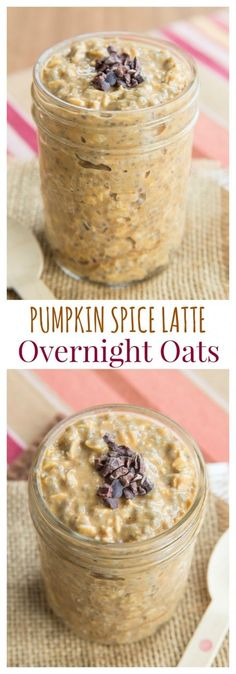 Spice Latte Overnight Oats - forget Starbucks and satisfy your PSL craving with a healthy breakfast recipe.Pumpkin Spice Latte Overnight Oats - forget Starbucks and satisfy your PSL craving with a healthy breakfast recipe. Cocina Light, Fall Breakfast, Breakfast Ideas, Pumpkin Breakfast, Sweet Breakfast, Oatmeal Recipes, Healthy Breakfast Recipes, Healthy Pumpkin Recipes, Breakfast Smoothies