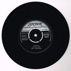 "THE VENTURES: Perfidia b/w No Trespassing (7"" Single)"