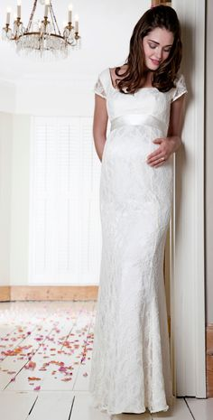 e1271a44f6a Eva Lace Gown. Maternity GownsMaternity WeddingPregnant ...