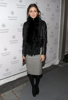 TV personality Olivia Palermo at the Mercedes-Benz Fashion Week Fall 2010 - Official Coverage at Bryant Park on February 16, 2010 in New York City.