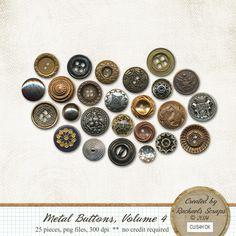 Metal Buttons, Volume 4