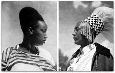 King MUTARA RUDAHIGWA and Queen Rosalie GICANDA