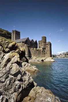 Dartmouth Castle, Devon, UK.