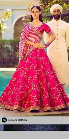 Indian Wedding Fashion, Indian Bridal Outfits, Indian Designer Outfits, Indian Dresses, Indian Fashion, Bridal Dresses, Designer Dresses, Indian Clothes, Women's Fashion