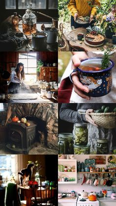 Witchcraft For The Weather Witch Witch Cottage, Cottage In The Woods, Witch House, Witch Aesthetic, Aesthetic Collage, Autumn Witch, Witch Room, Harry Potter, Story Inspiration