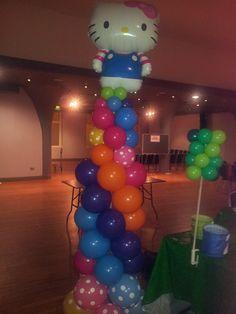 Hello Kitty Balloon Column #bigdayoutedinburgh