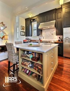 Superbe Haas Cabinet; Georgetown Maple Kitchen In Black And Spicy Mustard With  Smoke Highlights And Rub Thru Submitted By: Jamestown Designer Kitchens  Savannah, ...