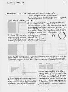 8 ways to make your own guidelines.  Or print out from margaretshepherd.com