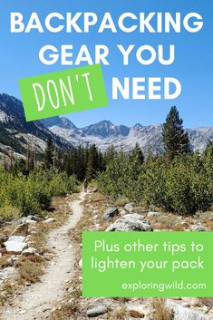 These six things are making your pack heavier. Try leaving them at home next time, and check out these other ideas for cutting pack weight so you can enjoy a more comfortable hike. Hiking Tips, Hiking Gear, Hiking Backpack, Hiking Shoes, Backpacking For Beginners, Backpacking Food, Ultralight Backpacking, Montezuma, Monteverde