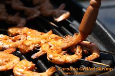 Throw another Shrimp on the barbie with these finger licking Grilled Shrimp from the Deep South!!